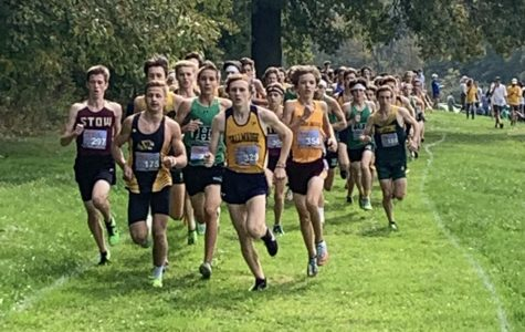 Senior Tommy Naiman is expected to lead the boys Cross Country team into the post season.  Naiman qualified to the State meet last year.