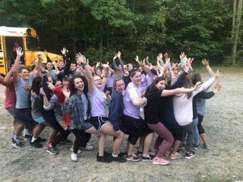 Leaders In Action members participate in an activity at their camp last year.  Participants will not have the opportunity to attend this year because of Covid-19.  The club hopes to return next year with the new pledges.