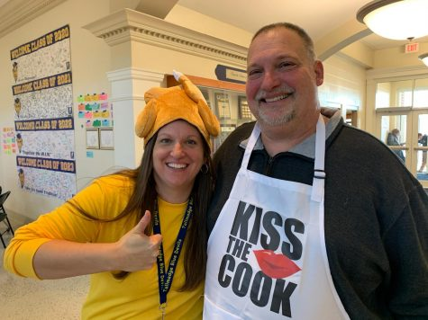 Principal shares passion for cooking