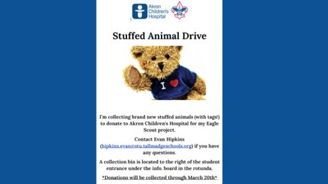Junior holds stuffed animal drive to earn Eagle Scout rank