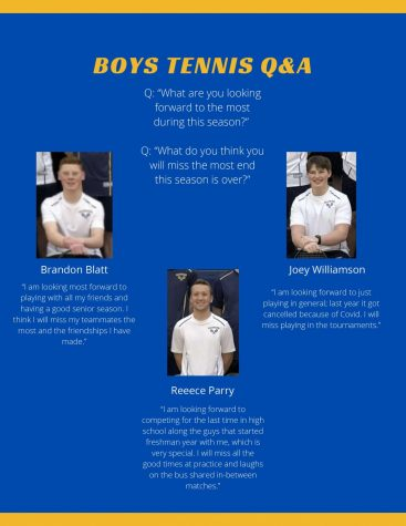 Boys Tennis: Q&A with seniors